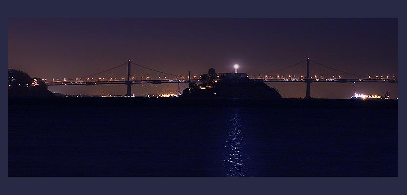 Nacht um Alcatraz