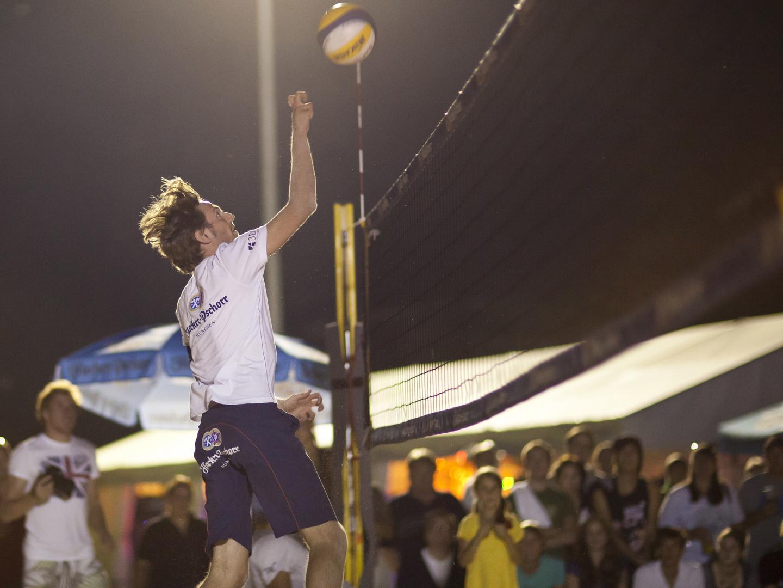 Nacht - Volleyball