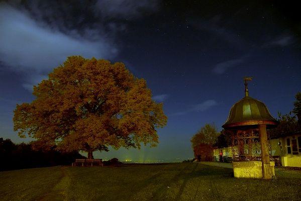 Nachtansicht bei Maria Plain