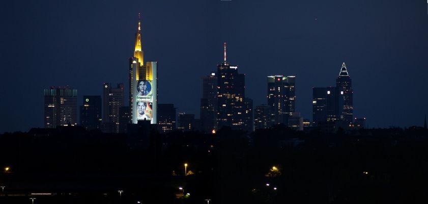 Nachtansicht Frankfurt am Main