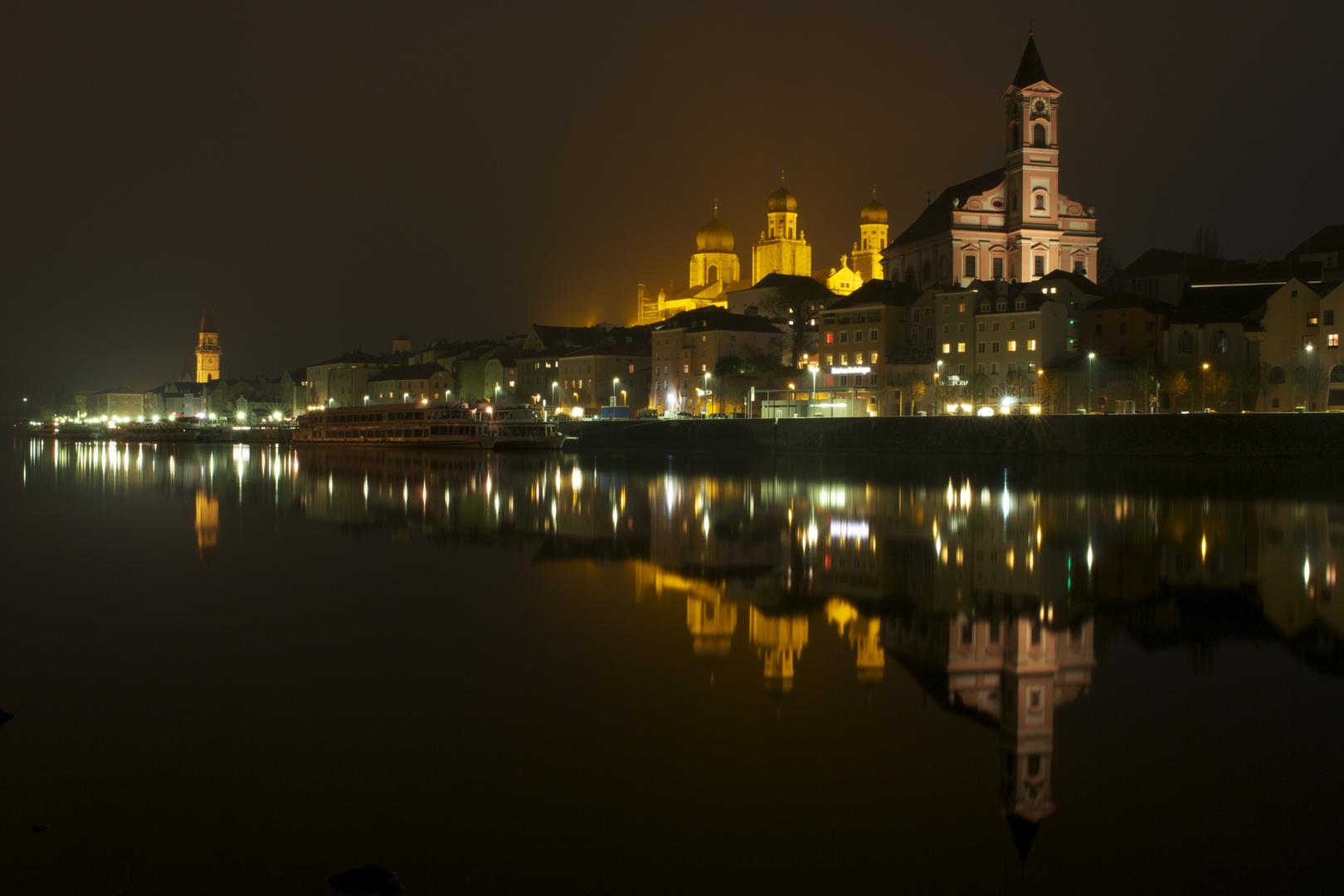 Nachtaufnahme Passau November 2012