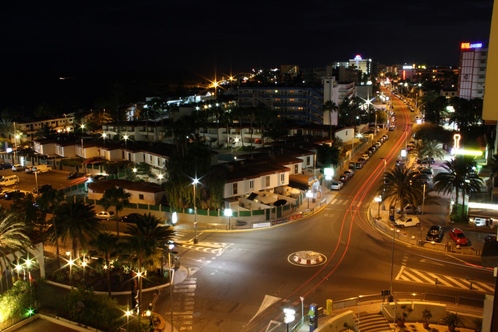 Nachtbild Playa Del Ingles