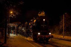 Nachtdurchfahrt in Knauthain