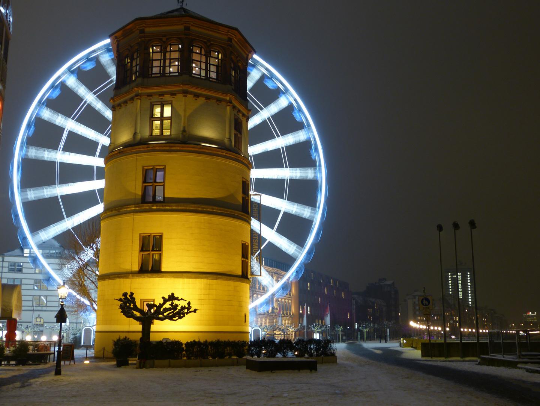 Nachtfahrt mit dem Riesenrad