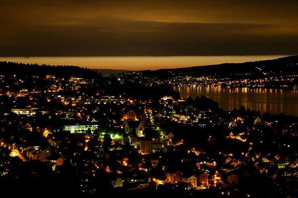 Nachtfotografie mit schönem Himmel