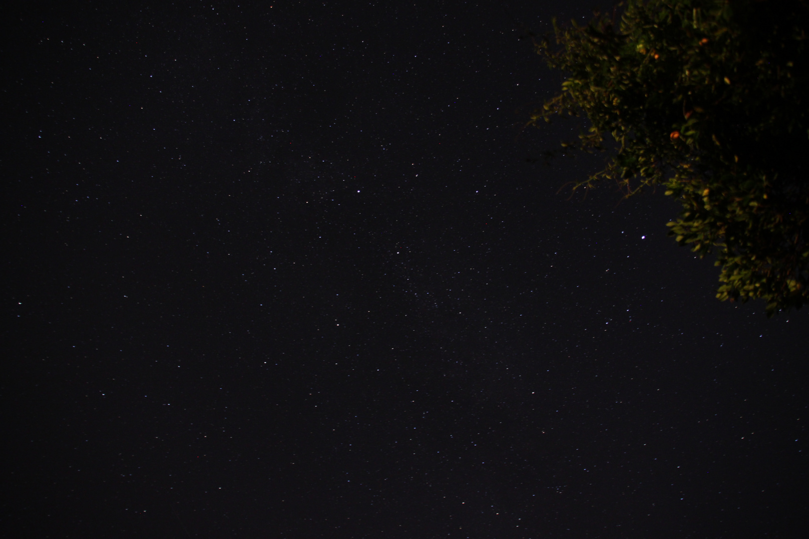 Nachthimmel in der Toskana