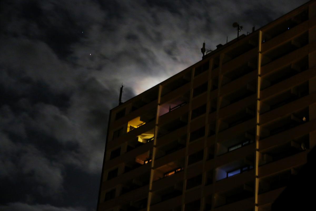 Nachthimmel in Erftstadt