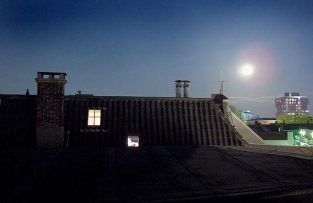 Nachthimmel über Enschede