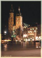 Nachtimpressionen aus Krakau