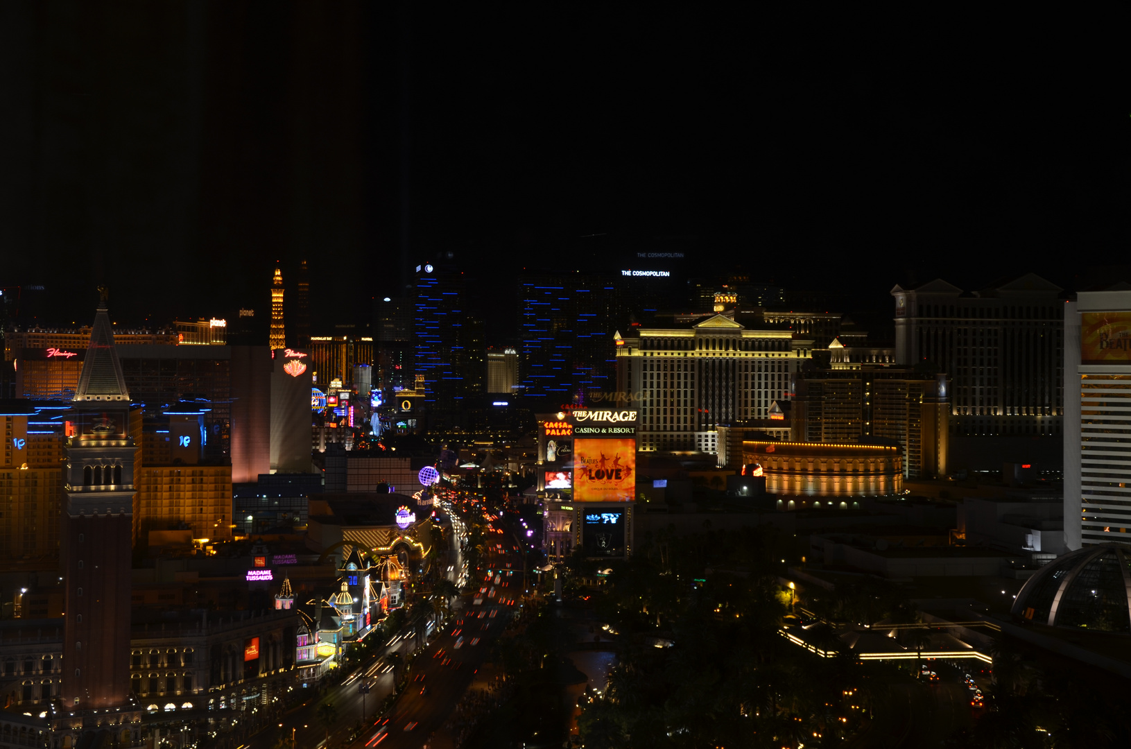 Nachtleben in Las Vegas