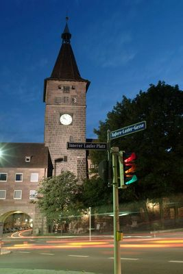 Nachtleben in Nürnberg/Franken