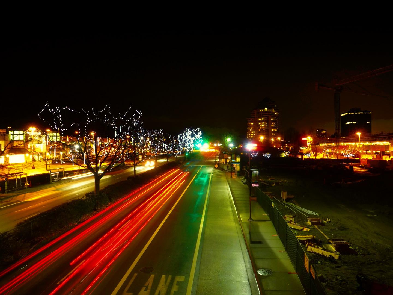 Nachtleben in Vancouver
