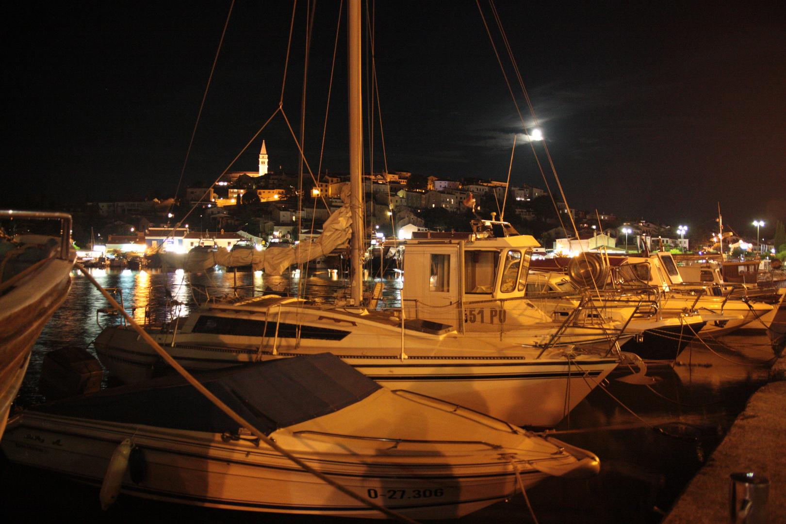 Nachtleben in Vrsar