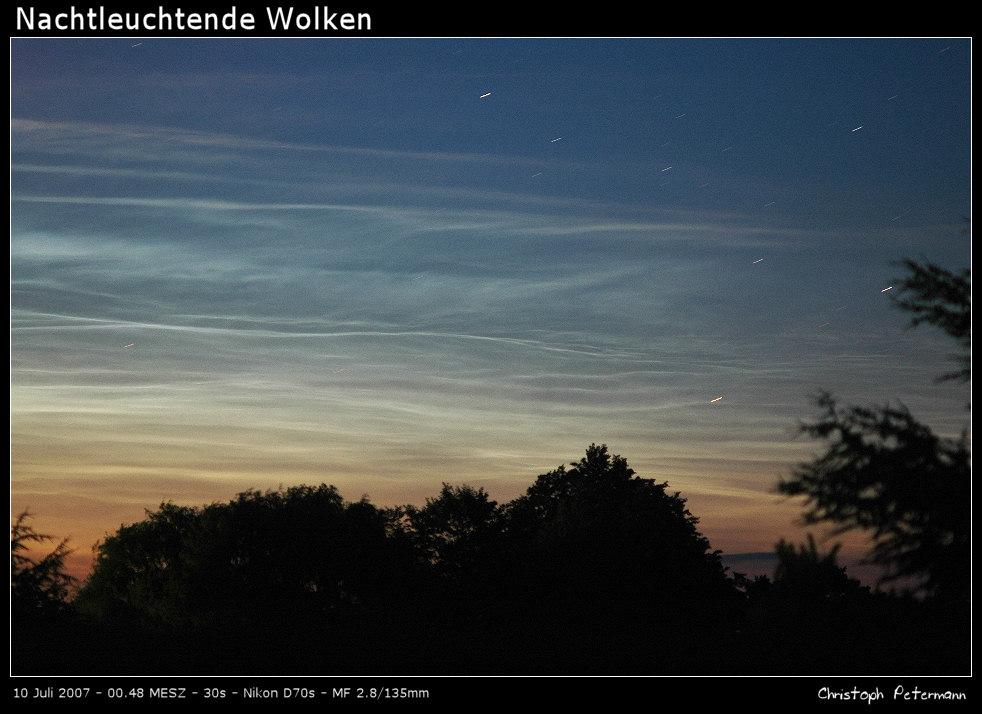 Nachtleuchtende Wolken (II)