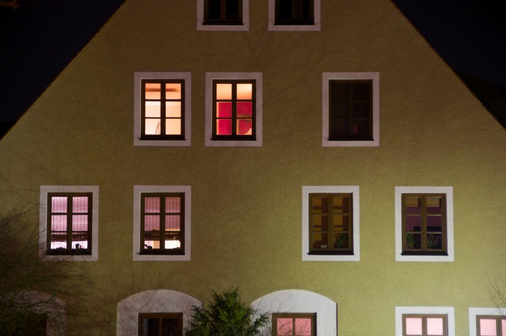 Nachtlicht von Gerhard Hausmann