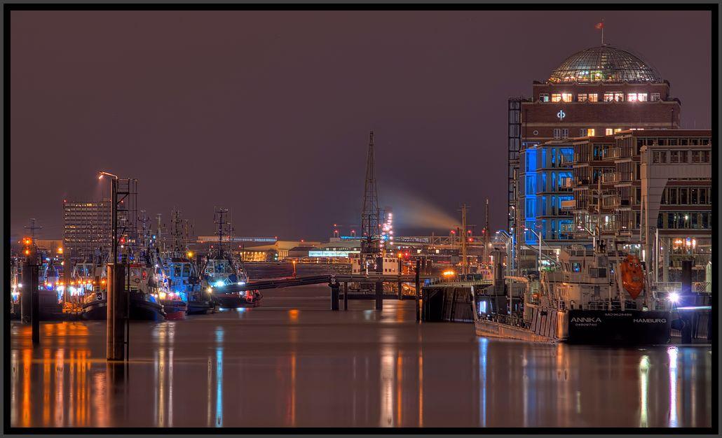 Nachtruhe im Hafen