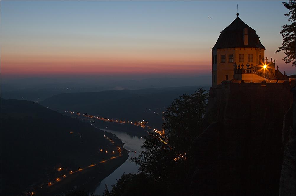 Nachtruhe über der Friedrichsburg