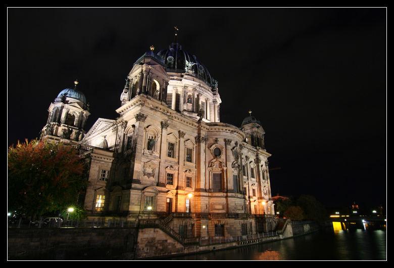 Nachts am Berliner Dom