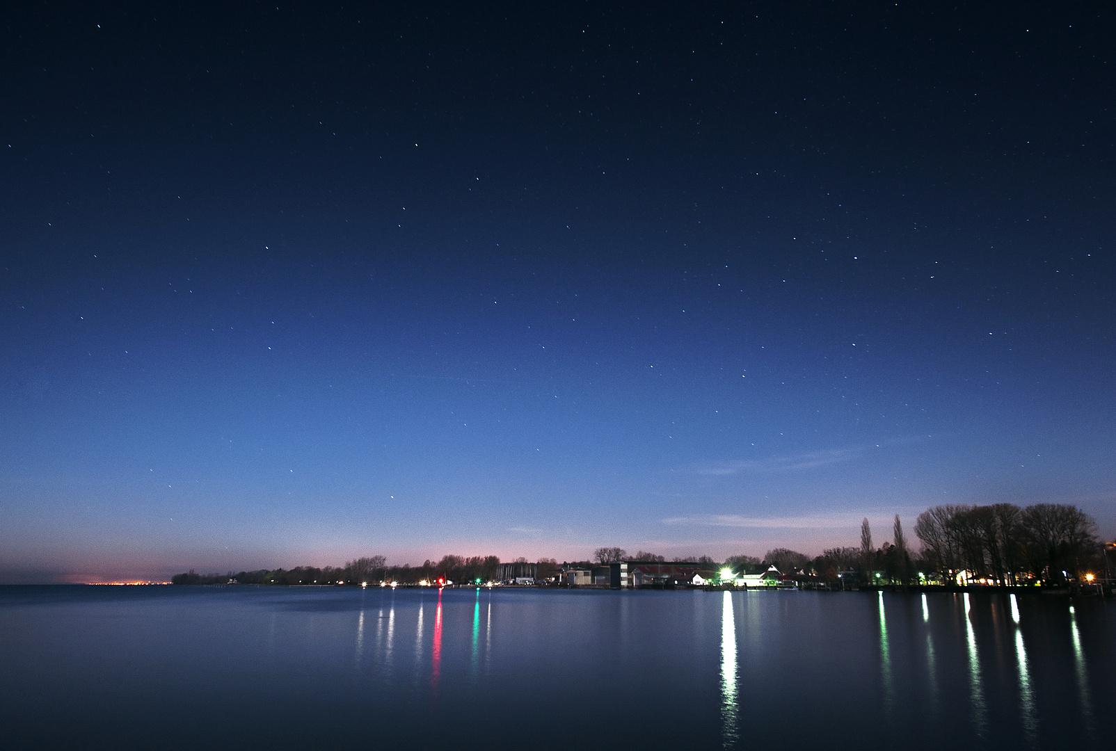 Nachts am Bodensee