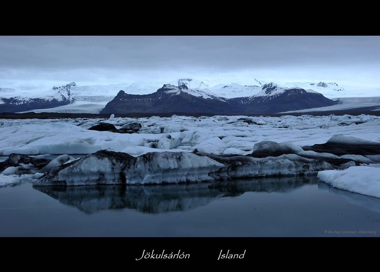 Nachts am Gletscher