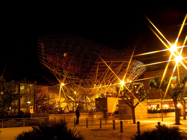 Nachts am Hafen