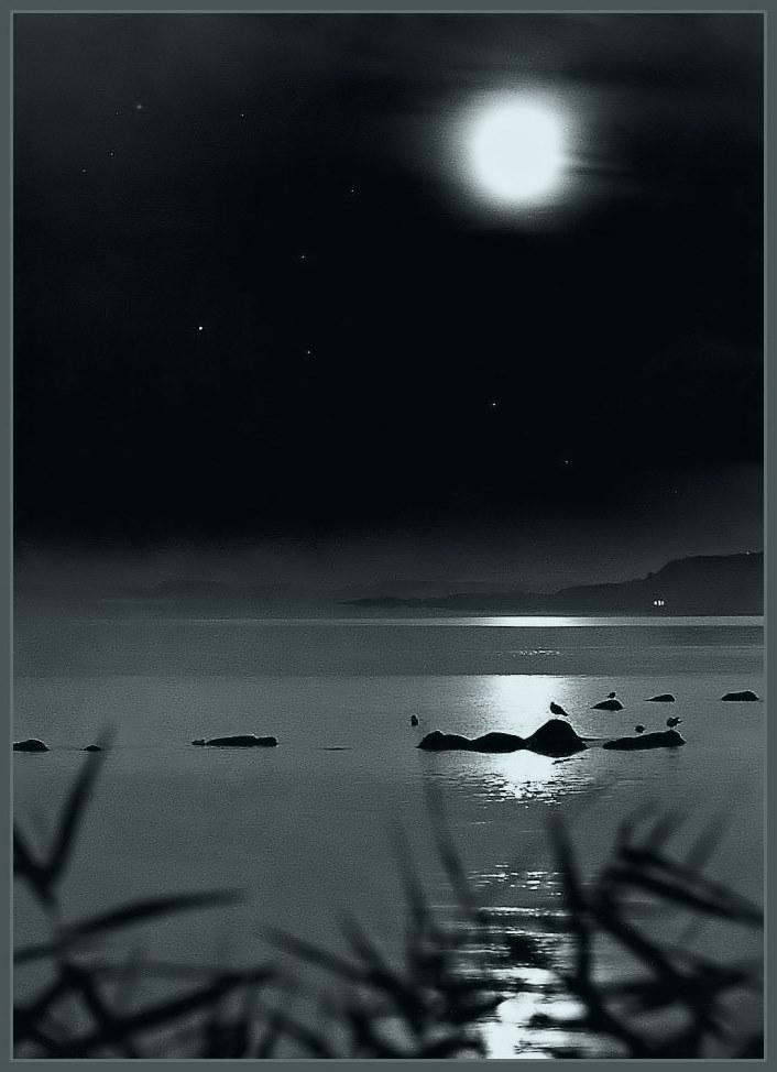 Nachts am Haff