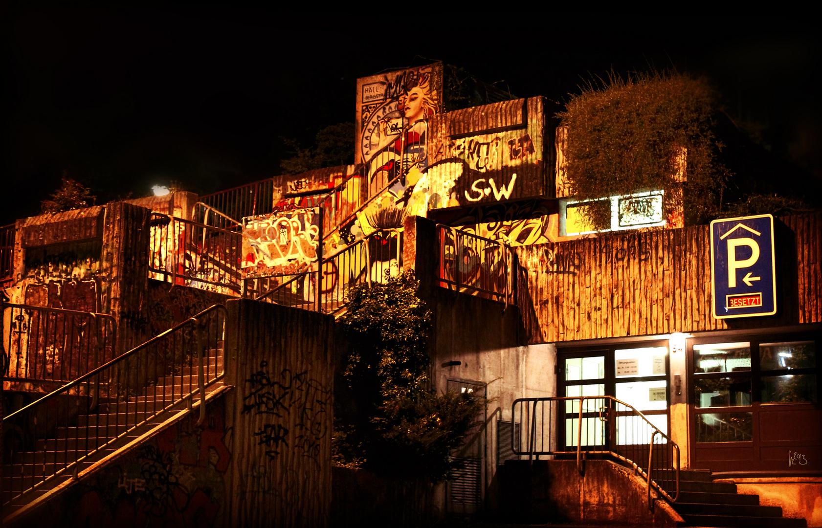 Nachts am Kasino