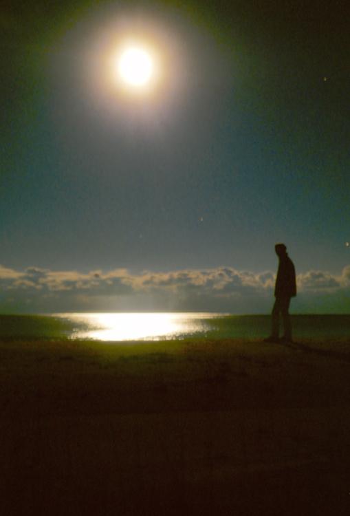 nachts am Lake Huron