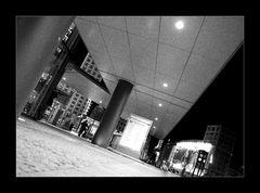 Nachts am Potsdamer Platz...