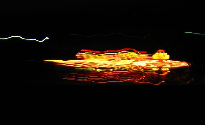 Nachts am Rande des Drachenfestes