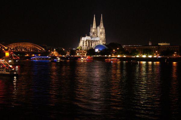 Nachts am Rhein