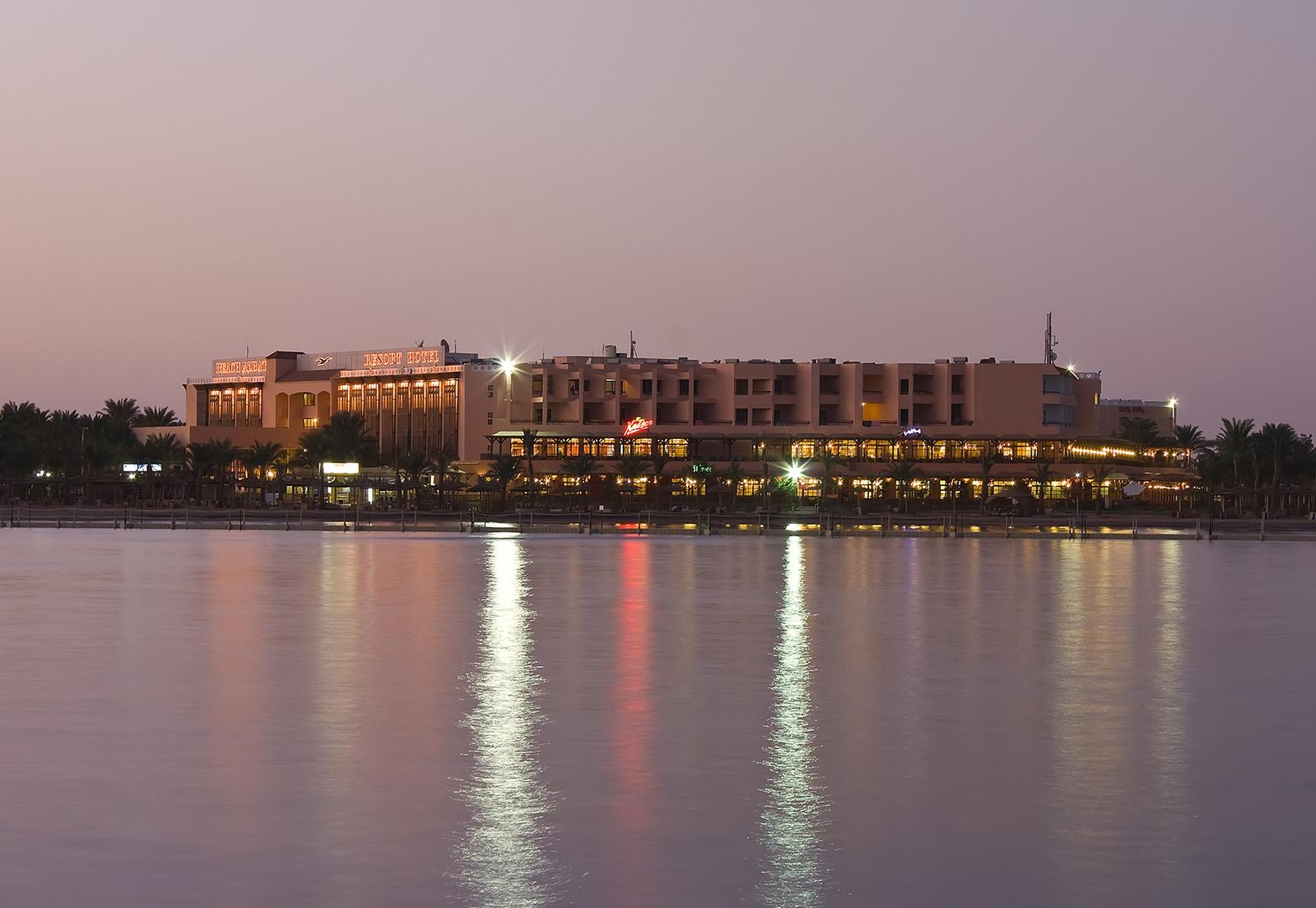 Nachts am Roten Meer ...