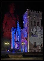 Nachts am Schloss Herdringen II