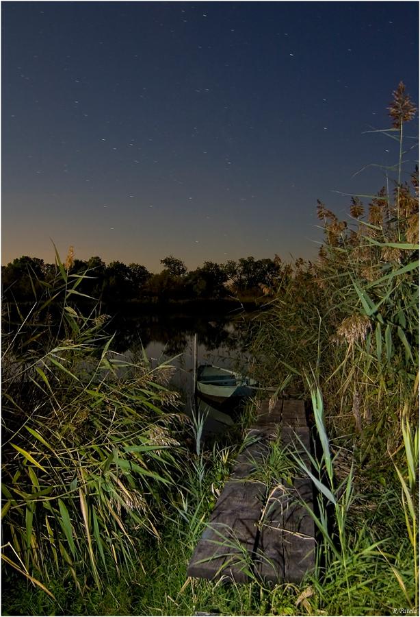 Nachts am See 2