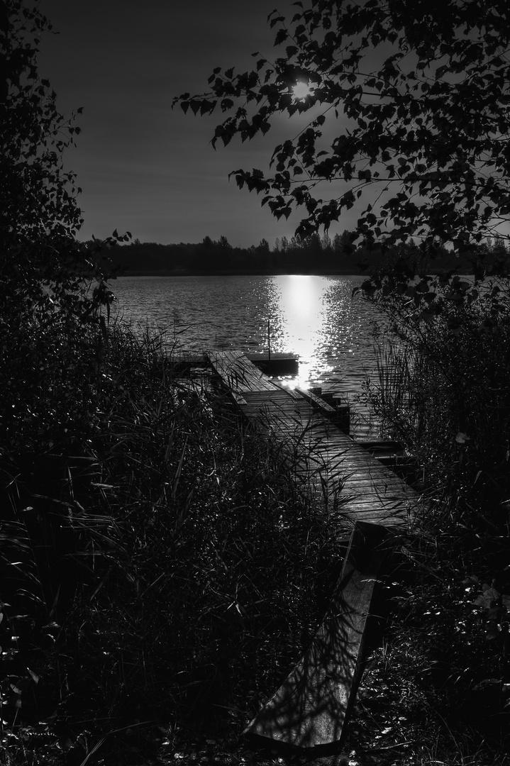 nachts am See......