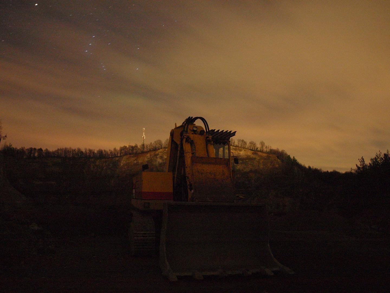 Nachts am Steinbruch 2