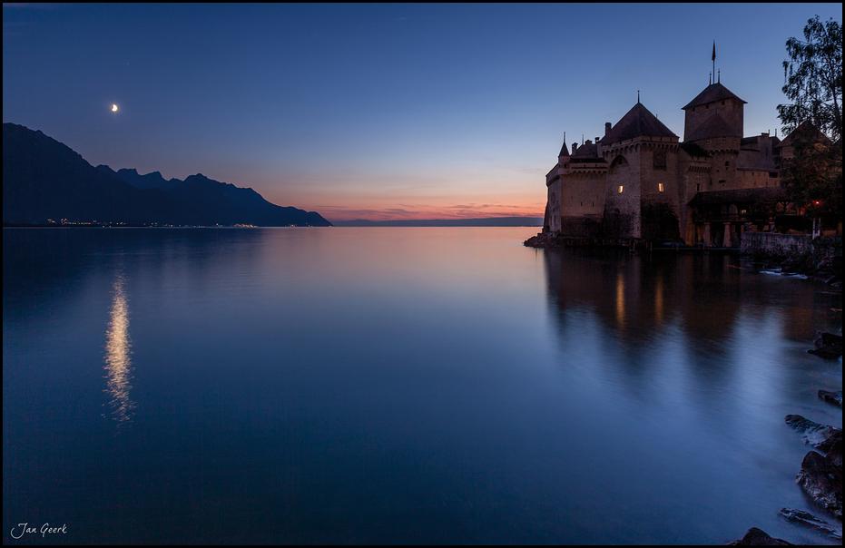 Nachts am Wasserschloss