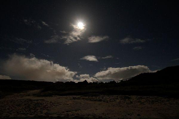 Nachts am Watt
