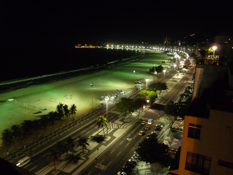 Nachts an der Copa Cabana