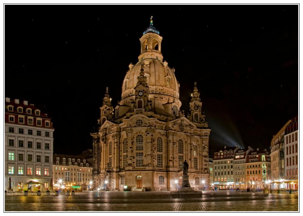 Nachts an der Frauenkirche