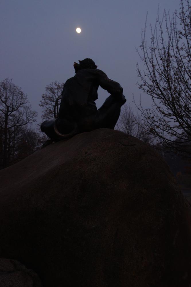 Nachts auf dem Hexentanzplatz-und der Teufel friert sich einen ab:-)