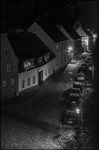 Nachts auf dem Kirchturm
