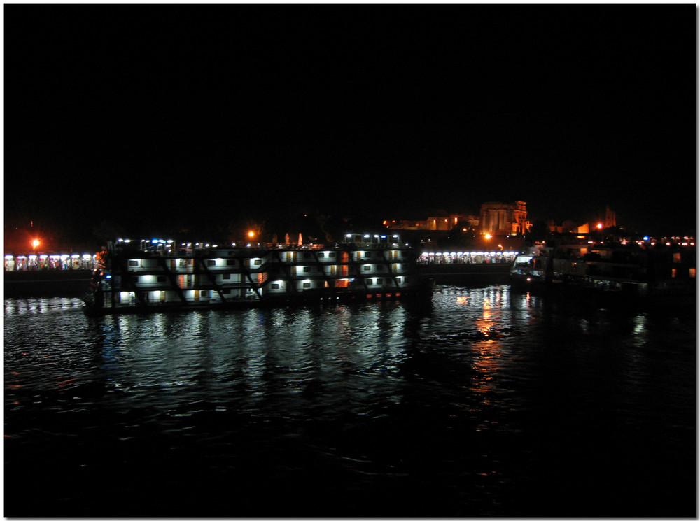 nachts auf dem Nil