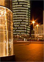 Nachts auf dem Potsdamer Platz