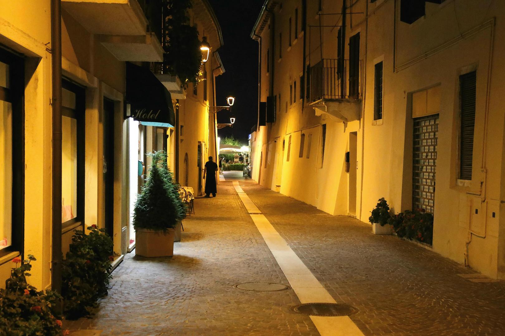 Nachts auf den Straßen b