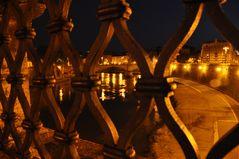 Nachts auf der Engelsbrücke