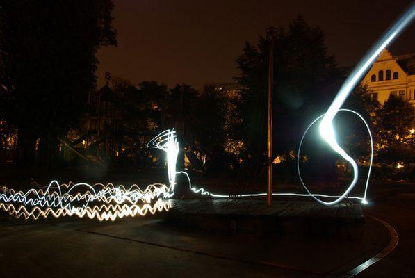 Nachts aufm Spielplatz....
