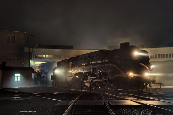 ... Nachts im Bahnbetriebswerk I