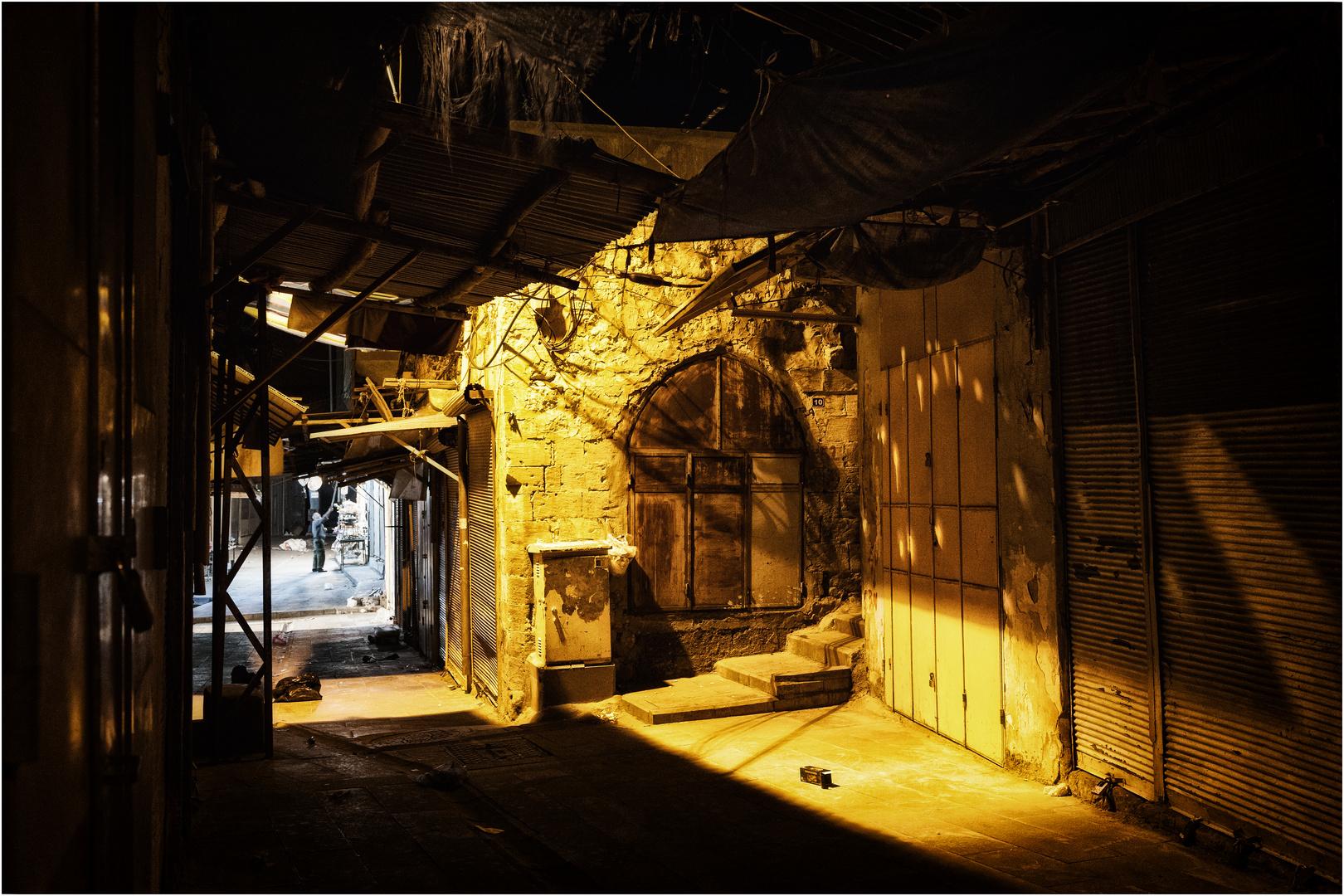 nachts im Basar