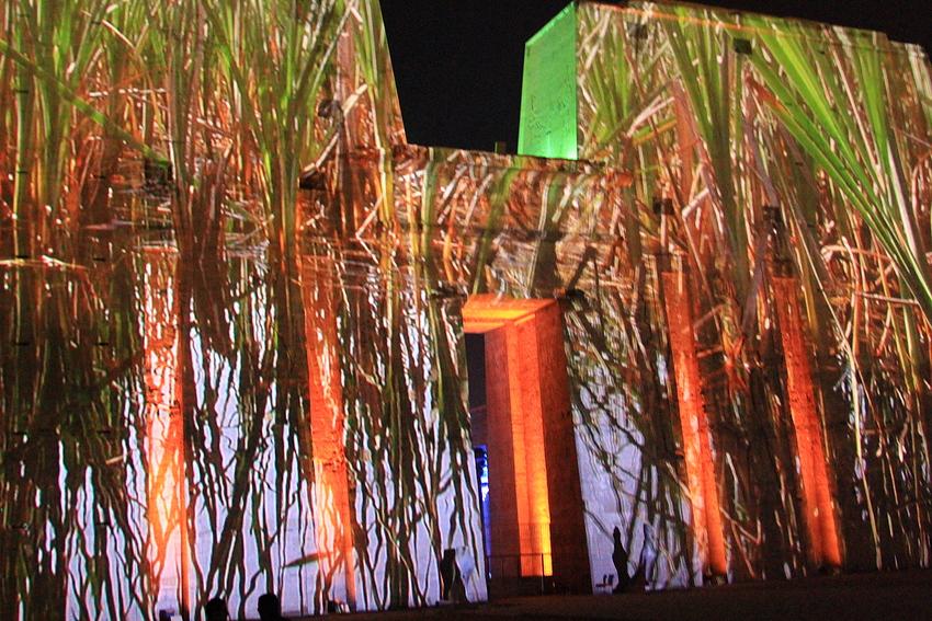 ...Nachts im Edfu Tempel...